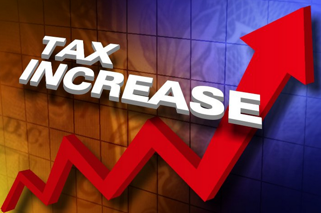Tax Increase Graphic